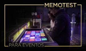 memotest para eventos